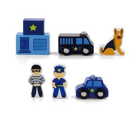 Доп. набор к ж/д Viga Toys Полицейский участок (50814)