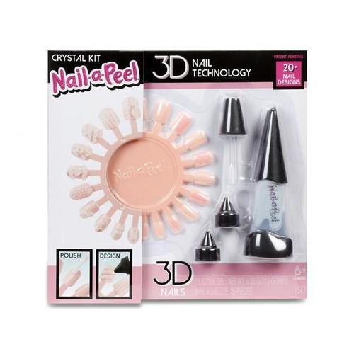 Игровой набор Nail-a-Peel Кристалл для юного нейл-арт мастера (551096)
