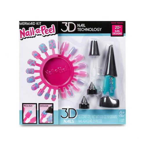 Игровой набор Nail-a-Peel Русалка для юного нейл-арт мастера (551089)