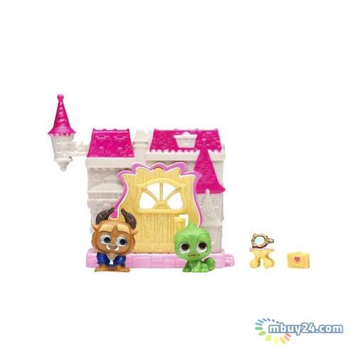 Игровой набор Disney Doorables Красавица и Чудовище (2 героя, домик, аксессуар) 69411