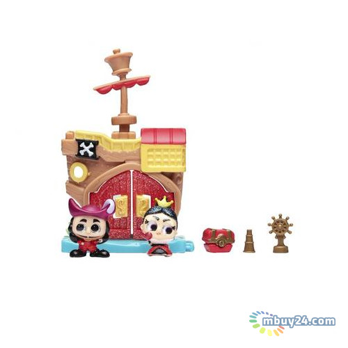 Игровой набор Disney Doorables Питер Пэн (2 героя, домик, аксессуар) 69416