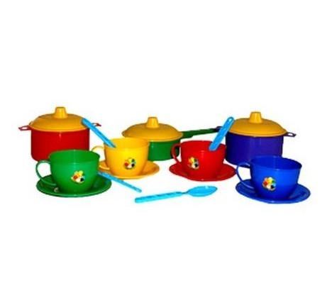 Набор посуды Технок Маринка 1 в сетке (2209)