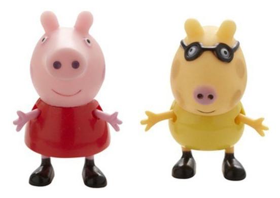 Набор фигурок Peppa Пеппа и Ее Друзья (Пеппа и Педро)