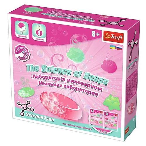 Игровой научный набор Trefl Science4you Мыльная лаборатория (60894)
