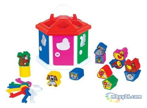 Детская игрушка Полесье Логический домик (в сеточке) (6196)
