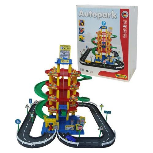Игровой набор Wader Polesie Паркинг 5 уровневый с дорогой и автомобилями (38104)
