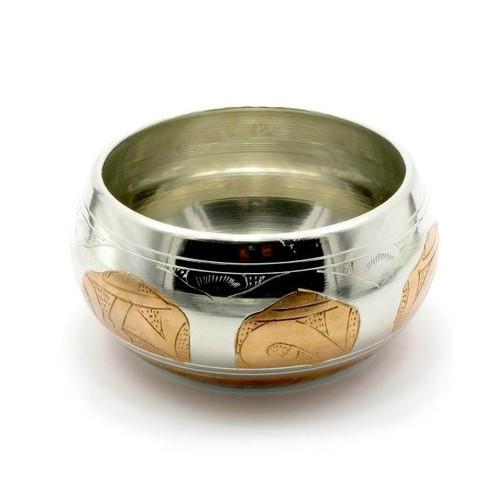 Чаша поющая Даршан d-11,5 см Singing Bowl Silver Copper no.2 (27400)