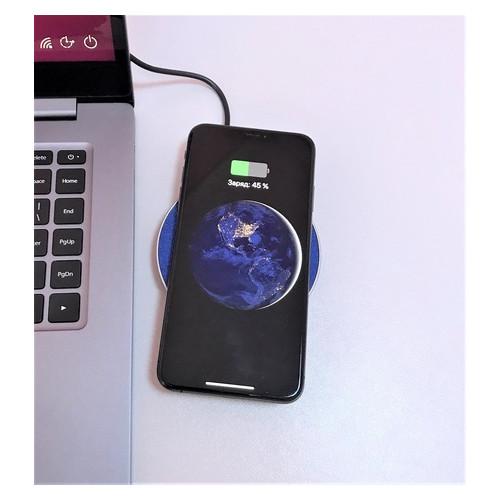 Беспроводное зарядное устройство GM 101 Blue (qw11qw01)
