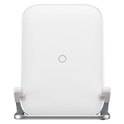 Зарядка беспроводная Baseus Rib Horizontal and Vertical Holder Wireless Charging 15W White