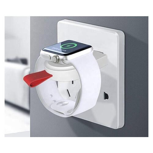 Беспроводное зарядное устройство UTG-T Charger Apple Watch Portable Magnetic Charger White (qww150)
