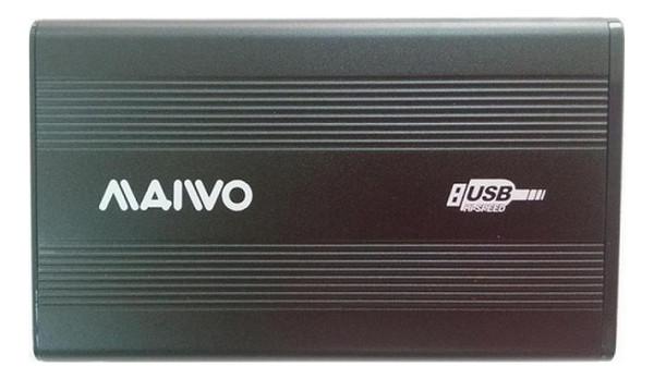 Карман внешний Maiwo K2501A-U2S 2.5 USB 2.0 black