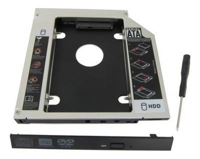 Адаптер Maiwo NSTOR-9 (9.5mm) для подключения 2.5 HDD/SSD SATA3 в отсек привода ноутбука