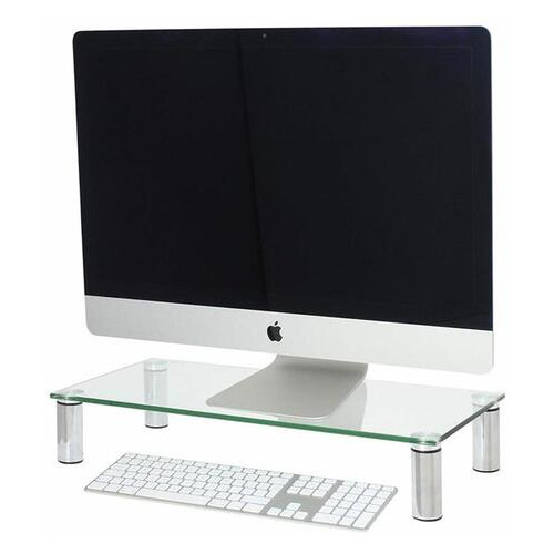Подставка для ноутбука/монитора BeCover B2 Transparent (704675)