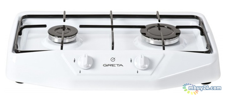 Настольная газовая плита Greta 1103 Белая