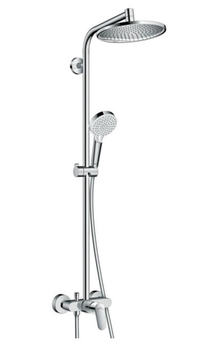 Душевая система Hansgrohe Crometta S 240 1jet Showerpipe 27269000