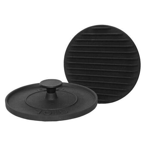 Пресс для гриля Биол чугунный круглый 240 * 240 мм (11242)