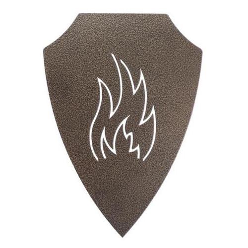Подставка-щит для шампуров DV огонь (Х28)