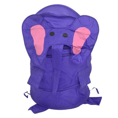 Корзина для игрушек Bambi M 1039 Фиолетовый слон