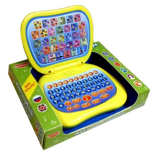 Электронная игрушка Genio Kids Мой первый ноутбук 82003