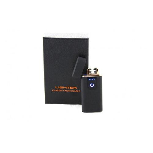 Электроимпульсная USB зажигалка Lighter 750, Черный