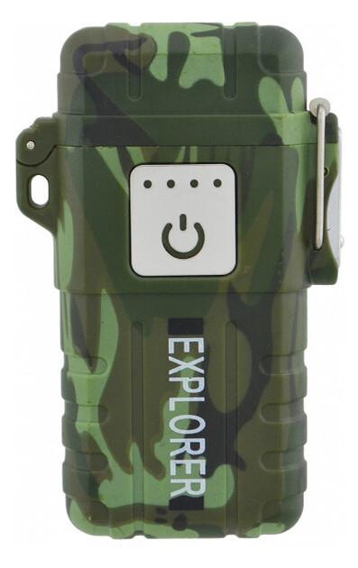 Электроимпульсная зажигалка JL317 Explorer, Камуфляжный