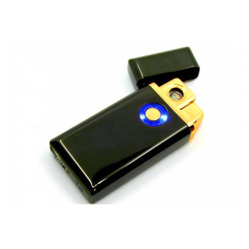Зажигалка USB электроимпульсная ТH-705, Черный