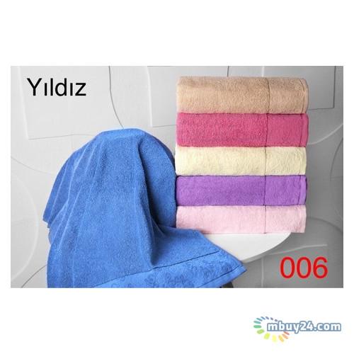 Набор из 6-ти полотенец Hanibaba Хлопок эконом yildiz 70x140 (m014918)