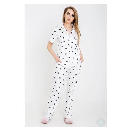 Пижама Irmana Нади горох 42 Белый