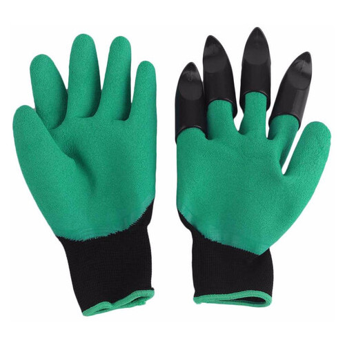 Садовые перчатки Supretto Garden Genie Gloves зеленый