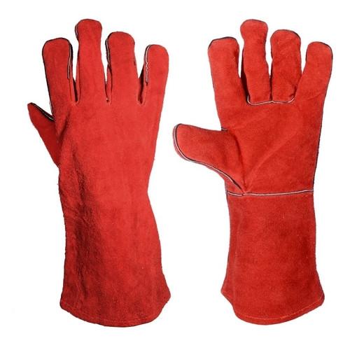 Перчатки краги замшевые Master Tool 14'' (83-0704)