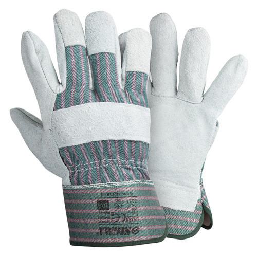 Перчатки Sigma комбинированные замшевые р10.5 класс АВ (цельная ладонь) (9448341)