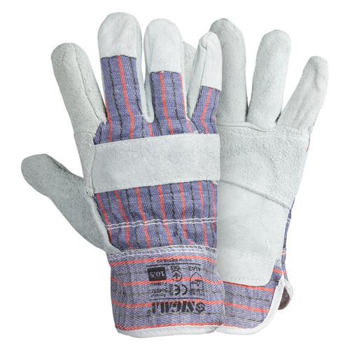Перчатки Sigma комбинированные замшевые р10.5 класс ВС (сшивная ладонь) (9448321)