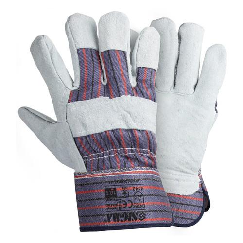 Перчатки Sigma комбинированные замшевые р10.5 класс ВС (цельная ладонь) (9448361)