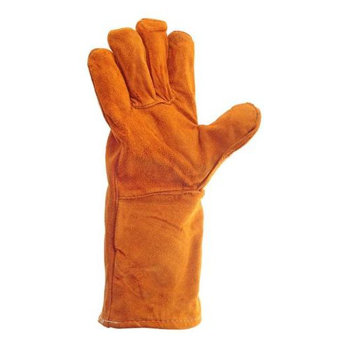 Перчатки Intertool замшевые краги 35 см х 14 коричневые (SP-0157W)