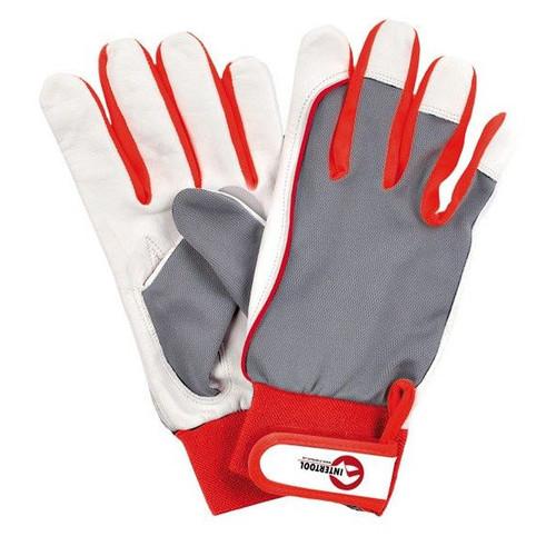 Перчатки комбинированные Intertool SP-0011