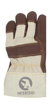 Перчатка Intertool кожаная утепленная 10.5 (SP-0013)