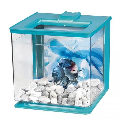 Аквариум для петушка Hagen Betta Kit EZ Care 2.5 L Голубой