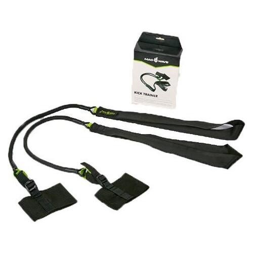 Толчковый тренажер для плавания Mad Wave M077108 Черно-зеленый (60444026)