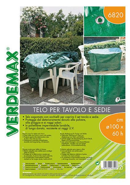 Защитный чехол круглый Verdemax 165см 8015358068215