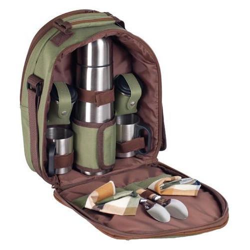 Набор для пикника Ranger Compact HB2-350 2225 RA 9908 Зеленый с коричневым (ZE35009289)