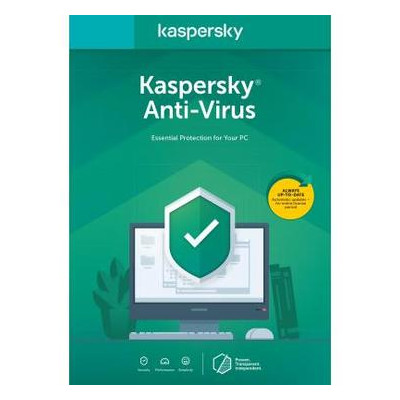 Антивирус Kaspersky Anti-Virus 2020 1 ПК 1 год Base Box (DVD-Box /No Disc) (5056244903206)