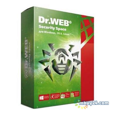 Антивирус Dr. Web Security Space + Комплексная защита 1 ПК 1 год лицензия (LHW-BK-12M-1-A3)
