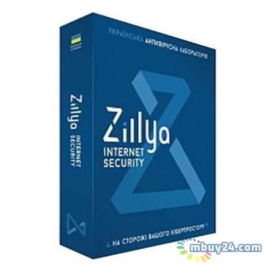 Антивирус Zillya! Internet Security 3 ПК 1 год новая лицензия (ZIS-1y-3pc)