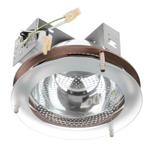Светильник точечный Brille DL-02 AB/2x26W даунлайт