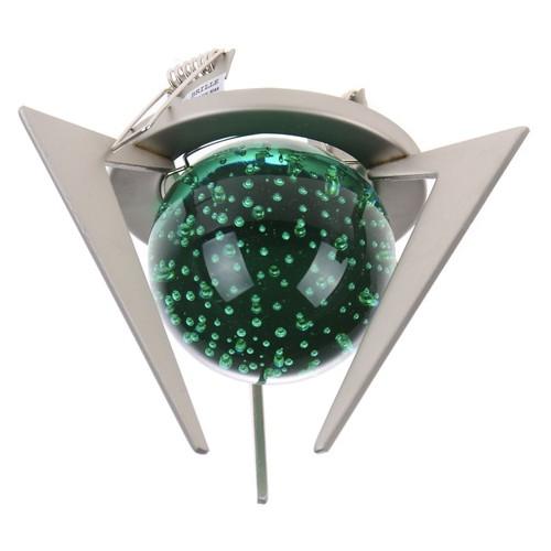 Светильник точечный Brille HDL-BA ALU Green декоративный