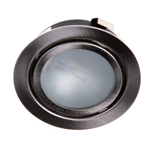 Светильник точечный Brille HDL-J 06 SN (72) меб. плюс лампа