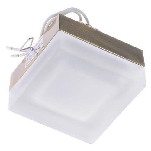 Светильник точечный Brille HDL-DS 17 Tecno-170 AB