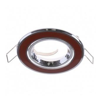 Светильник точечный Brille HDL-DT 32 Brown/Chrome