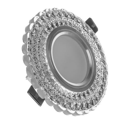 Светильник точечный Brille HDL-G262/3W + LED WH (36-175)
