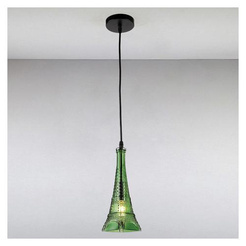 Люстра Light House LS-13377-1 GN зеленая